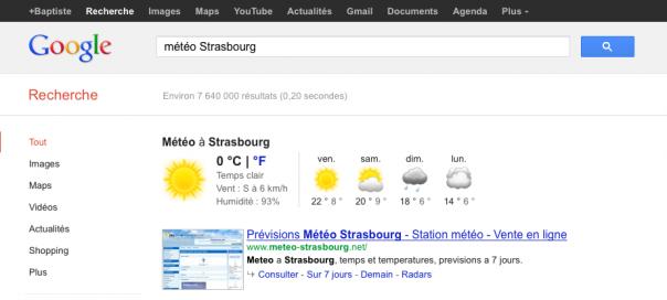 Google Semantic Search : La réponse directement dans les SERPS