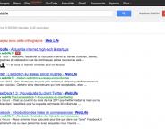 Google Play dans le menu et nouveau bouton Google+1