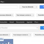 Google Reader : Refresh de l'interface utilisateur