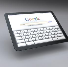 Tablette tactile Google : une arrivée effective pour le mois de mai