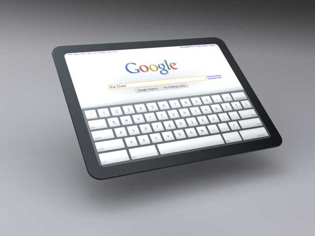 Tablette tactile Google