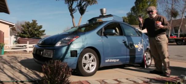 Google : Voiture autonome pour les aveugles