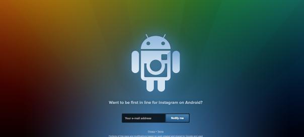Instagram : Application Android à nos portes !