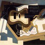 Juan Gris : Guitar with Clarinet
