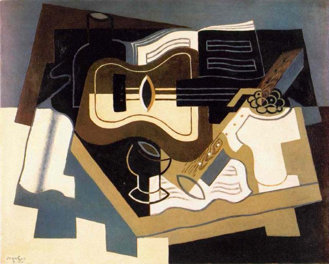 Juan Gris : Guitar with Clarinet
