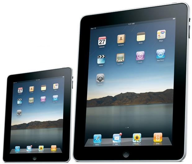 iPad 7 pouces concept
