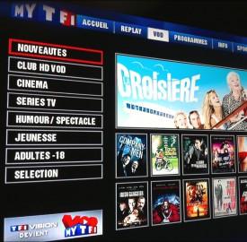 TNT : MyTF1 et MyTF1VOD bientôt sur HBBTV ?