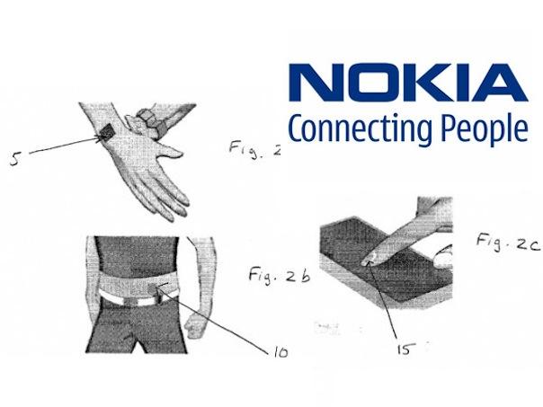 Brevet Nokia : Tatouage magnétique