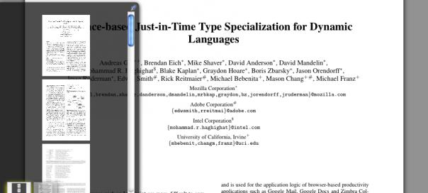 Firefox 14 : PDF.js, le lecteur de fichiers PDF en HTML5 et JS