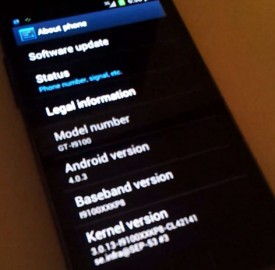 Samsung Galaxy S II : Ice Cream Sandwich débarque le 15 mars