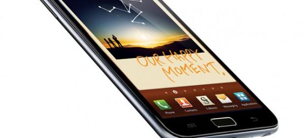 Samsung Galaxy Note : 5 millions d'exemplaires vendus en 5 mois
