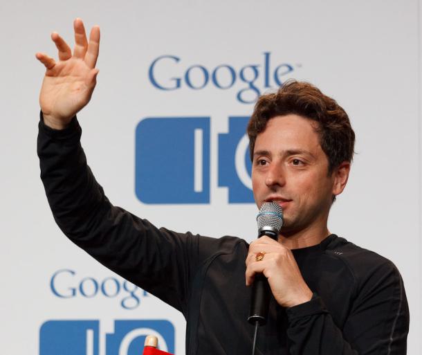 Sergey Brin à la conférence Google I/O 2011