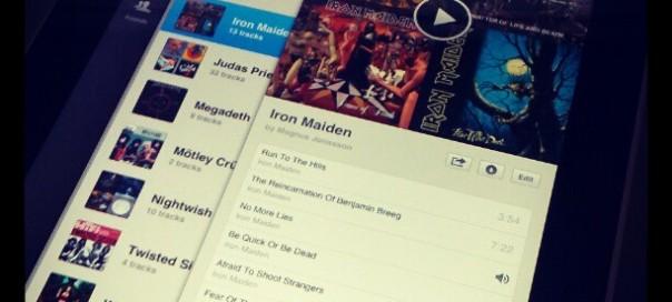 Spotify : Application iPad de streaming de musique ?