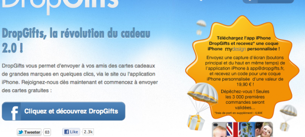 DropGifts, le leader mondial du social gifting