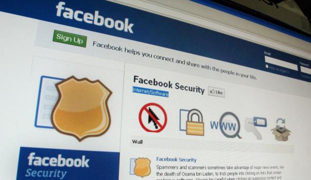 Sécurité Facebook