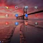Bureau d'applications Google Chrome OS