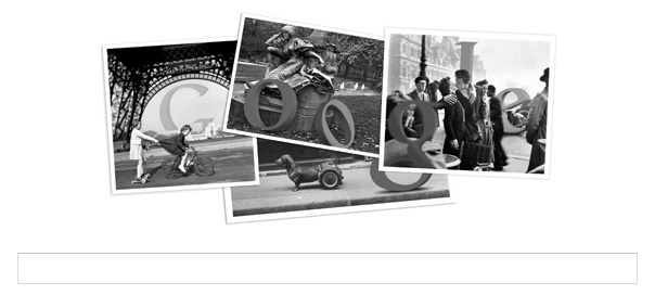 Google : Robert Doisneau, le photographe à l'honneur en doodle