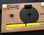 Ikea : Vente d'appareils photos en carton