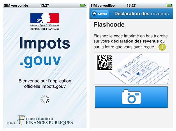 Impots.gouv : Application mobile de déclaration de revenus