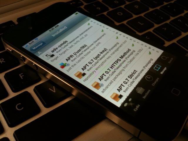 Jailbreak et Désimlockage sur iPhone 4