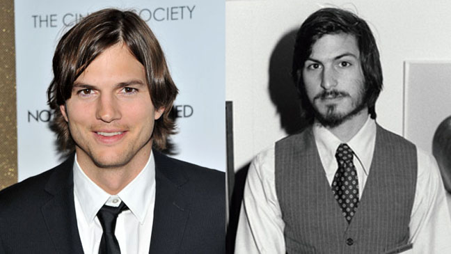 Ashton Kutcher et Steve Jobs