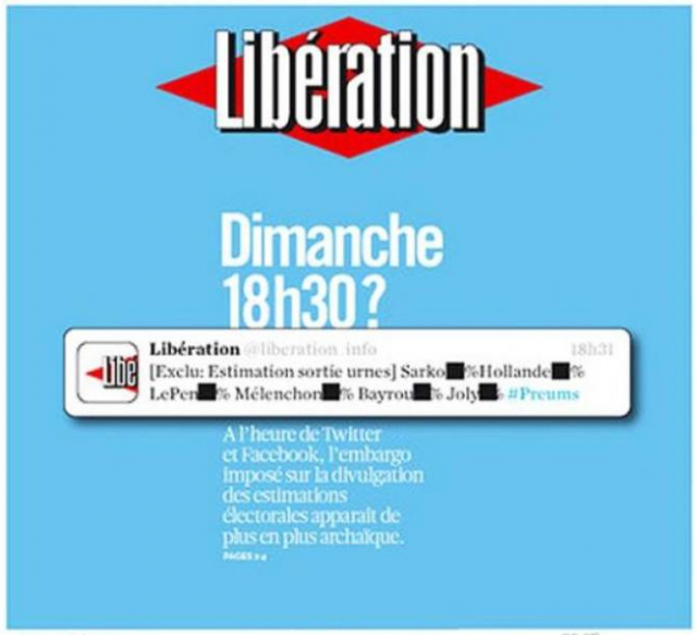 Une liberation 18 avril