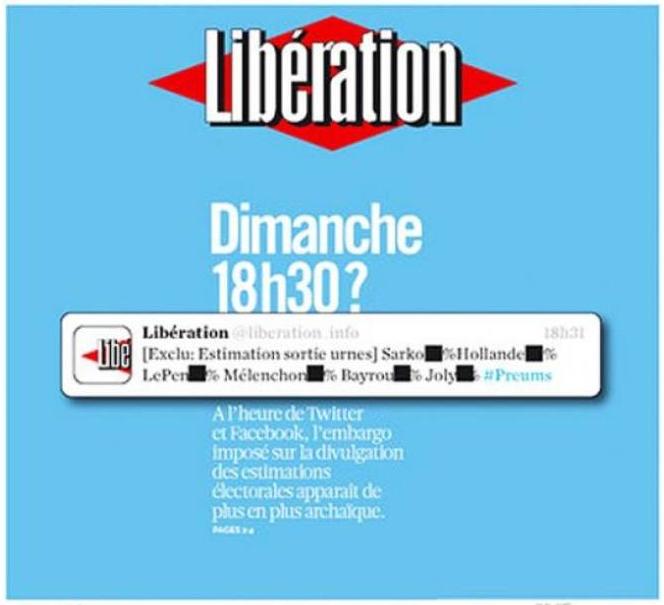 Une liberation 18 avril