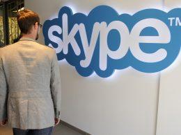 Logo Skype