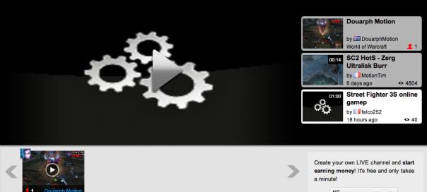 MotionCreds : Portail de diffusion live dédié aux jeux vidéo sur Dailymotion