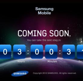 Samsung Galaxy S III : Dévoilé dans 3 heures ?