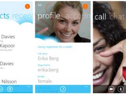 Skype sur Windows Phone