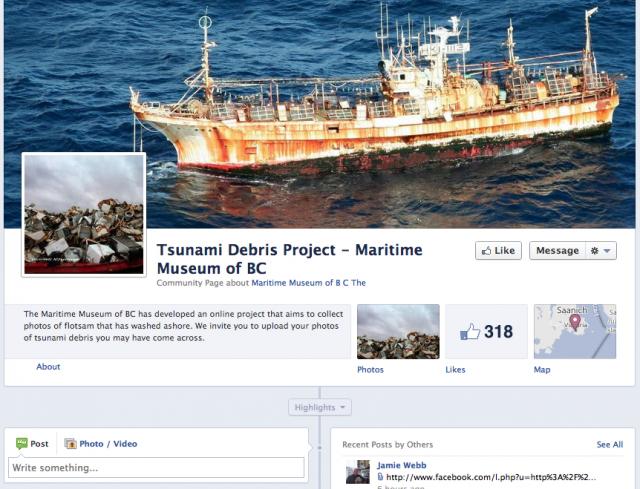 Tsunami Debris Project