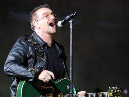 Chanteur groupe U2 : Bono