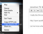 WordPress.com : Spotify, Rdio et GitHub dans les articles