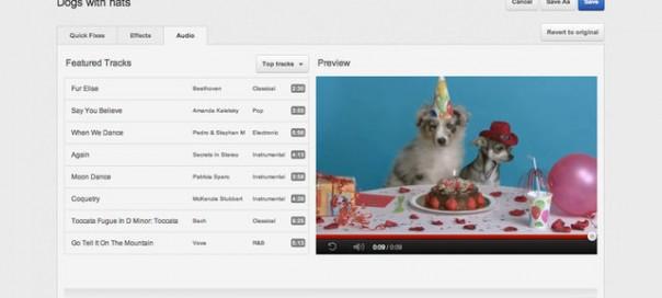 YouTube : Musiques libres de droits pour les vidéos