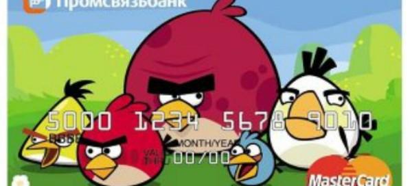 Angry Birds : La carte de crédit débarque en Russie