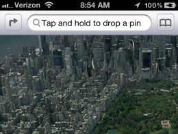 Apple Maps dans iOS 6