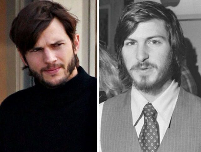 Ashton Kutcher & Steve Jobs