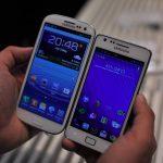 Comparaison Samsung Galaxy S III et S II