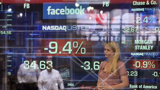 Bourse Facebook
