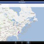 Facebook Messenger iPad : Géolocalisation