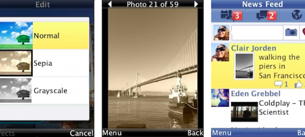 Facebook : Filtres de photos pour applications mobiles