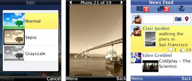 Facebook : Filtres photos