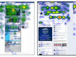 Eye tracking sur la Facebook Timeline
