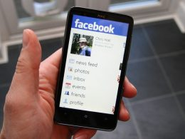 Facebook sur Windows Phone
