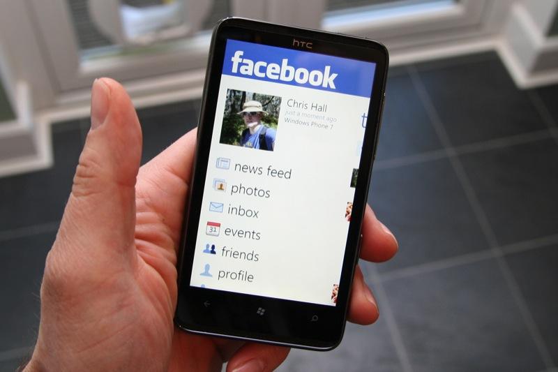 Facebook sur Windows Phone