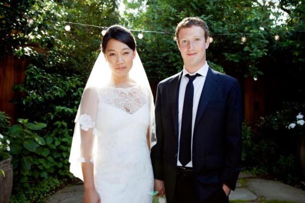 Mariage Mark Zuckerberg