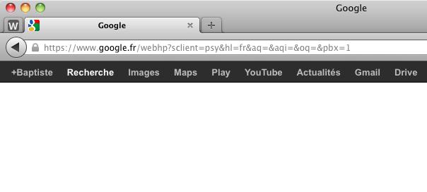 Firefox : Recherche Google chiffrée (SSL)