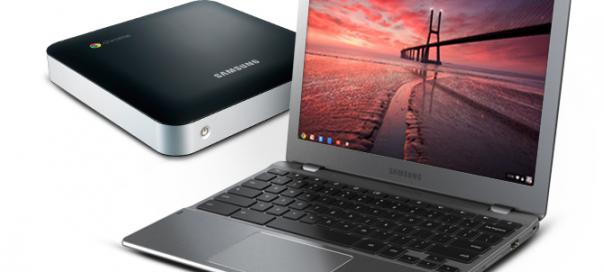 Google : Nouveaux Chromebook & Chrombox de Samsung