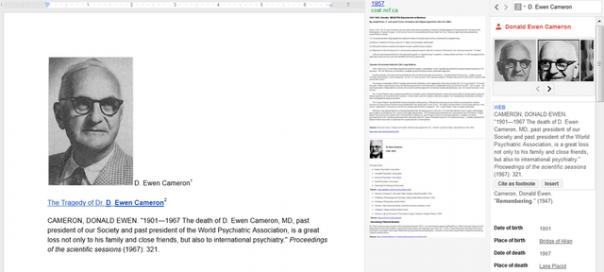 Google Docs : Une nouvelle barre de recherche rapide